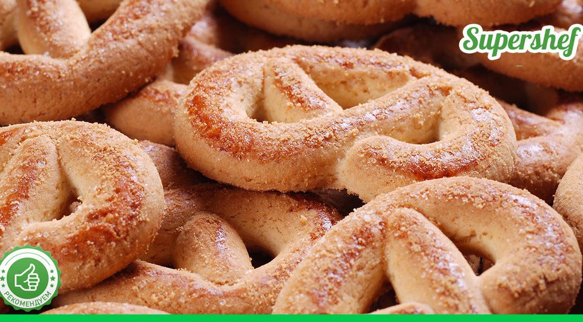 Хочется быстрой творожной выпечки? Тогда сахарные крендельки будут в самый раз!
