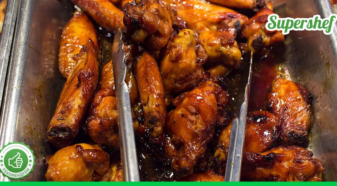 Рецепт восточных куриных крылышек
