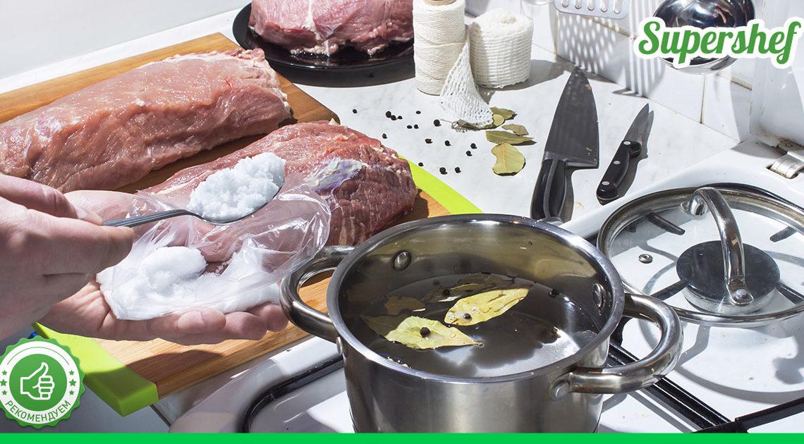 Выводим из мяса всю ненужную химию