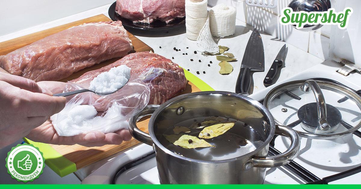 Как правильно вывести из мяса все химикаты