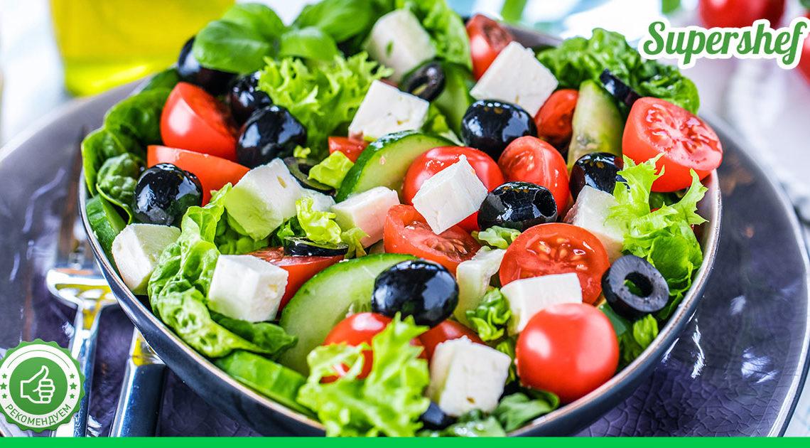 Готовим греческий салат правильно