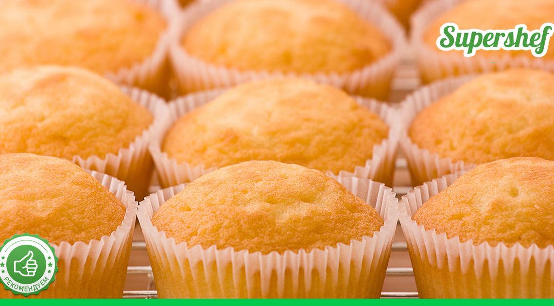 Быстрые и вкусные творожные кексы