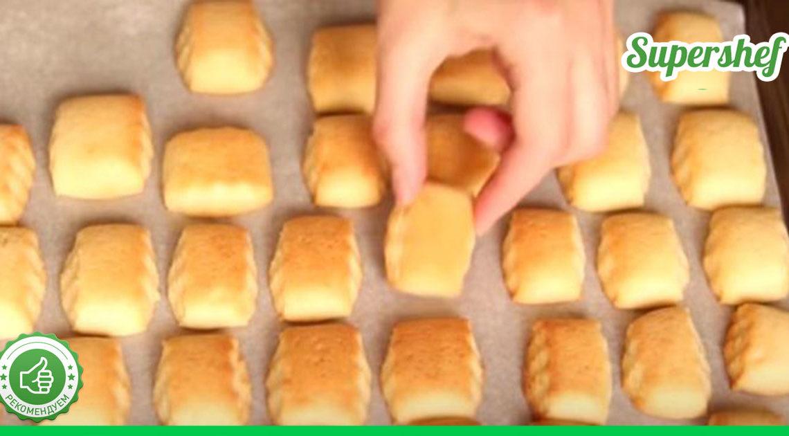 Рецепт песочного печенья родом из СССР, которое пекли наши бабушки и мамы