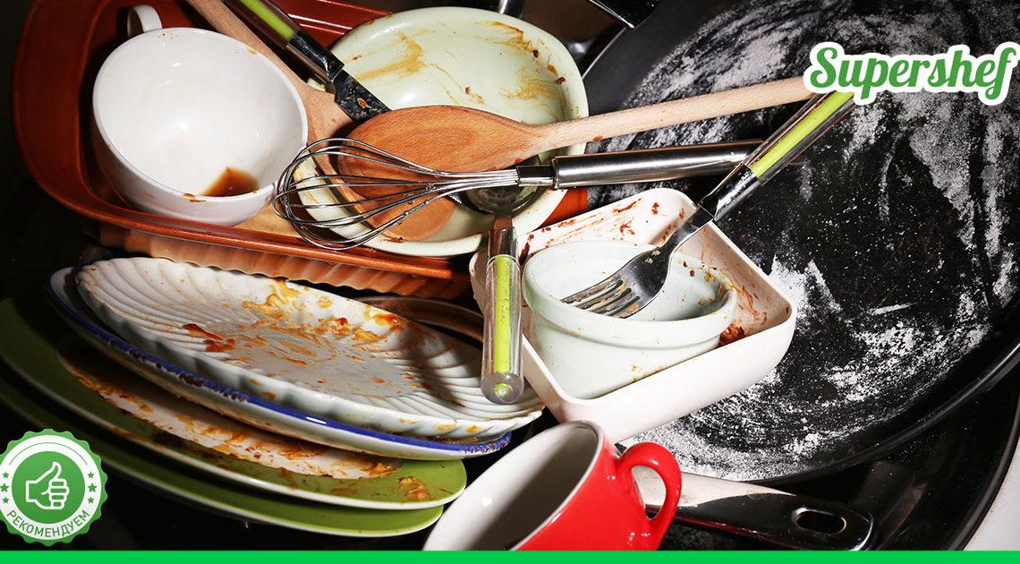 Почему нельзя оставлять грязную посуду до утра