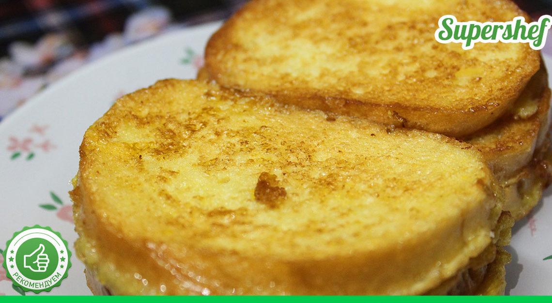 Супер-идея для идеального завтрака: любимые будут в восторге. Греночки с сыром.