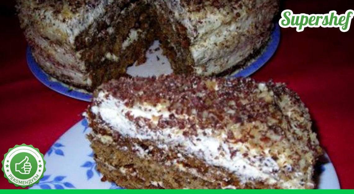 Рецепт несравненного торта «Татьяна».