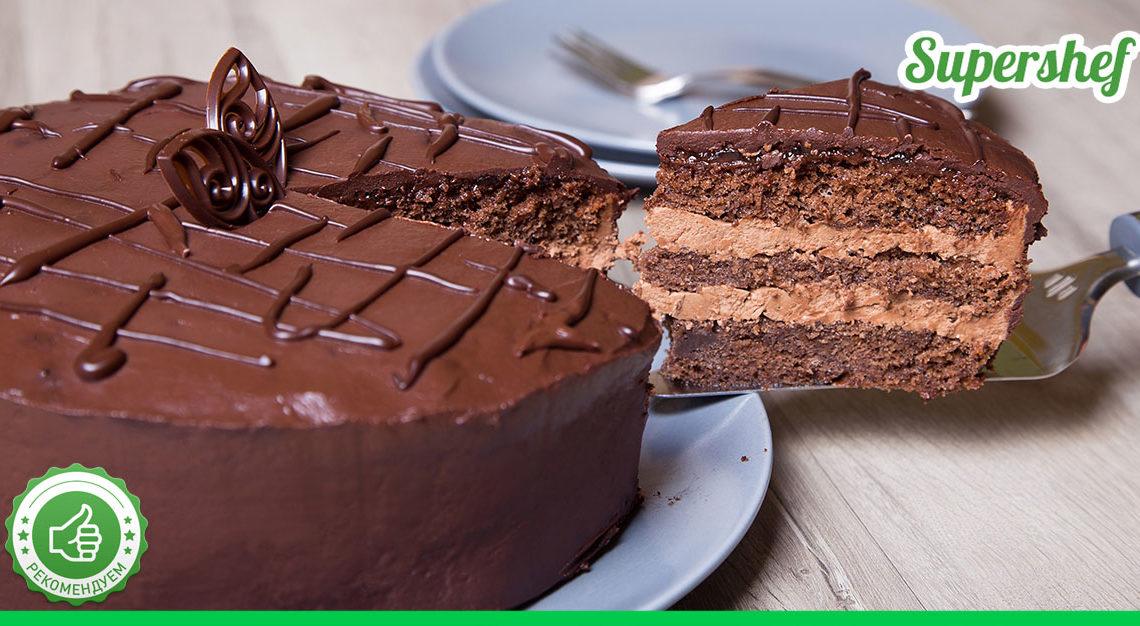Как испечь «Пражский» торт дома