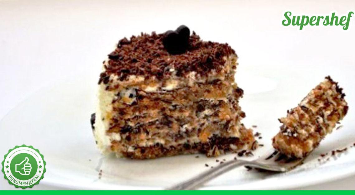 Рецепт орехового торта почти без муки по итальянскому рецепту