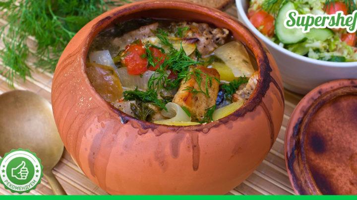 Рецепты изысканных блюд, приготовленных в горшочках