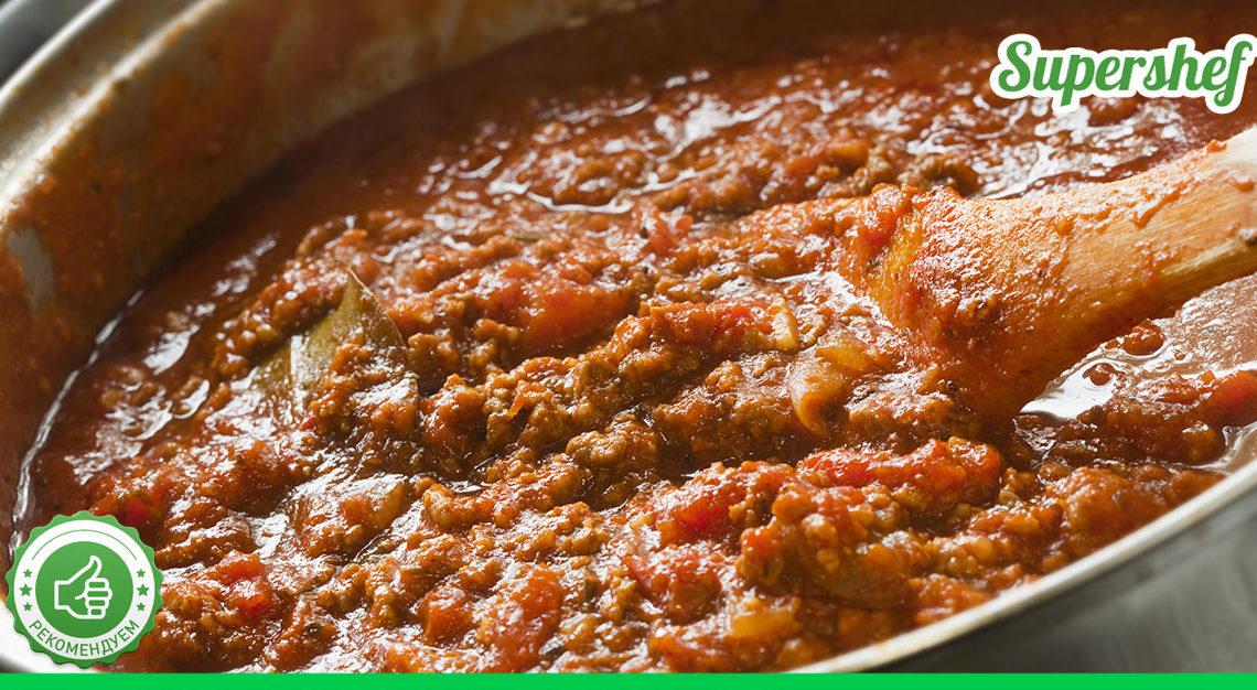 Соус «Болоньезе» — идеальный рецепт приготовления