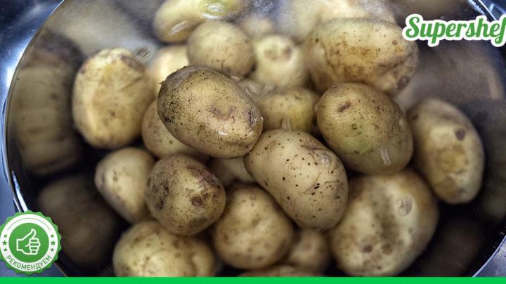 Итальянский способ приготовления картофеля с кожурой. Такой ароматный, что все сбегаются на кухню