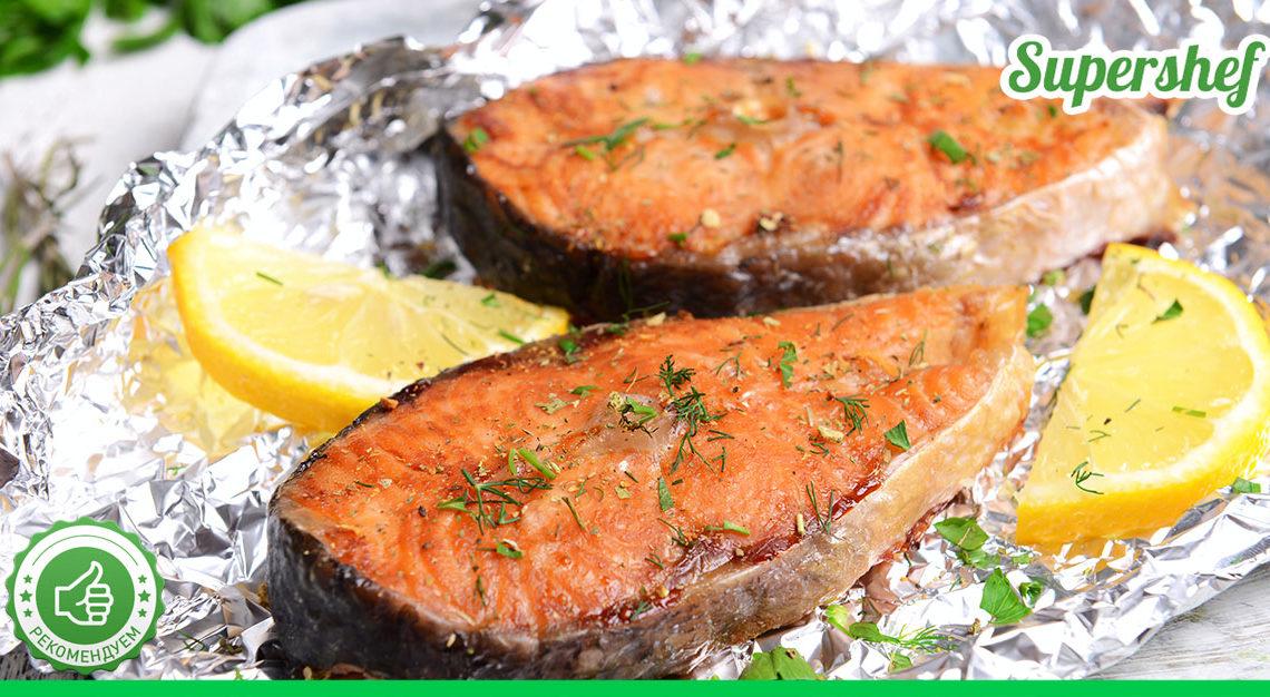 5 простых рецептов для правильного ужина с рыбкой