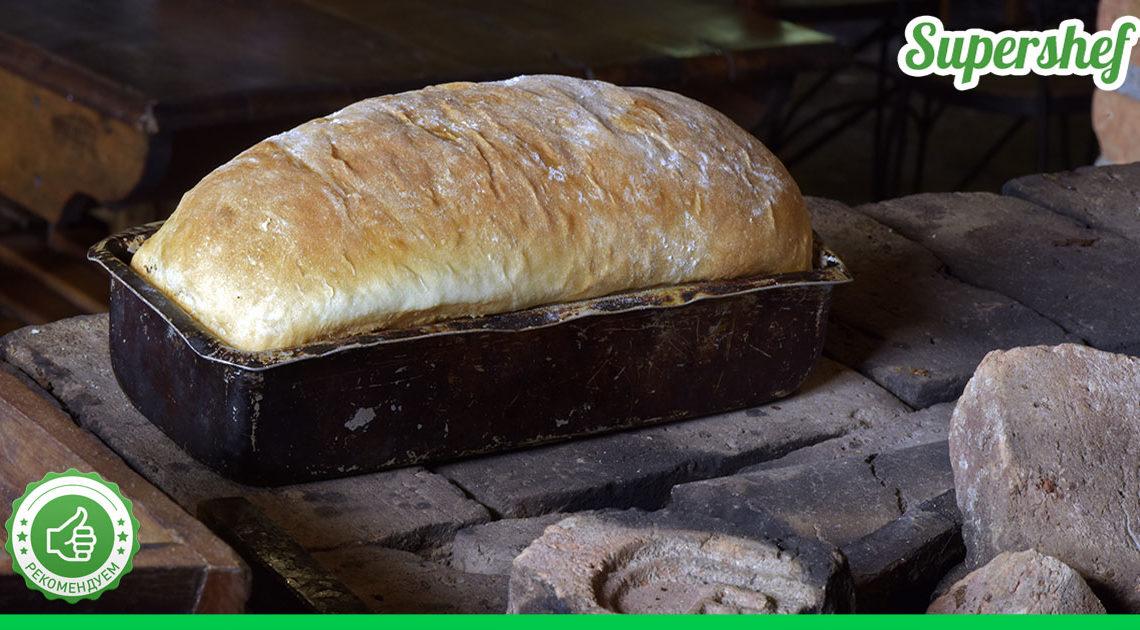 Корочка хрустящая, а внутри мягкий!  Очень вкусный домашний хлеб