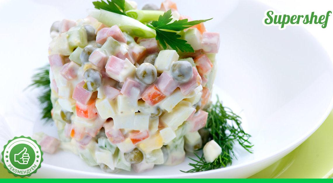 Любимый «Оливье» по рецепту от свекрови