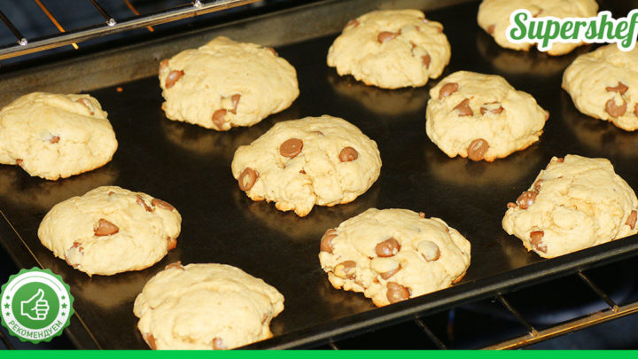 6 рецептов печенья, которое готовится меньше 15 минут.Можно с легкостью успеть к завтраку