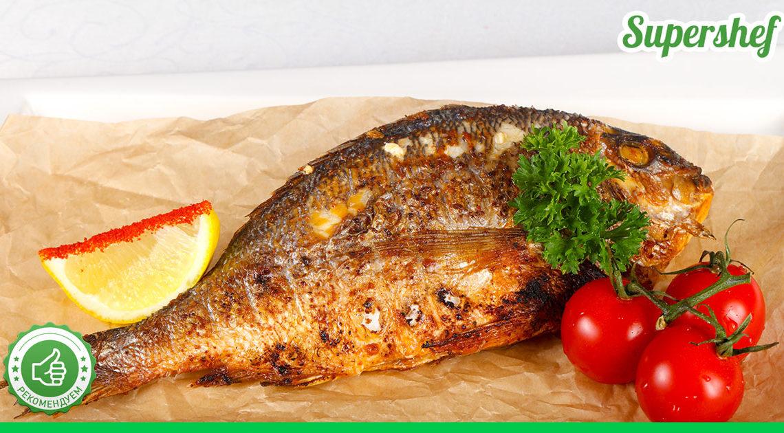 Папин рецепт жареной рыбы по-новому: получается без костей, и кухню убирать не нужно
