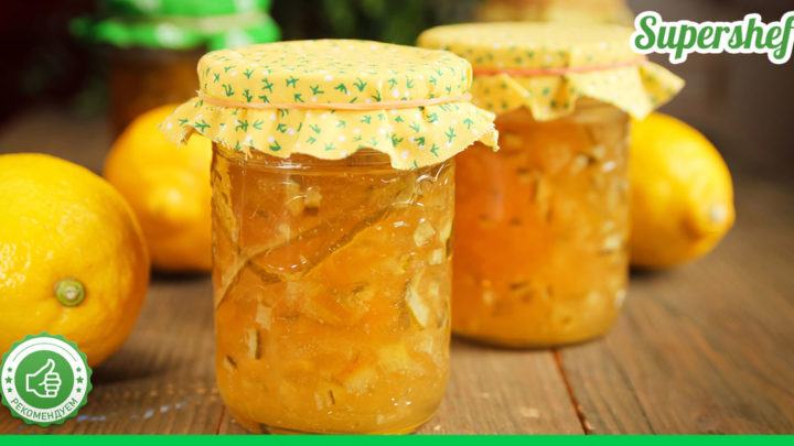 Рецепт ароматного и полезного лимонного варенья