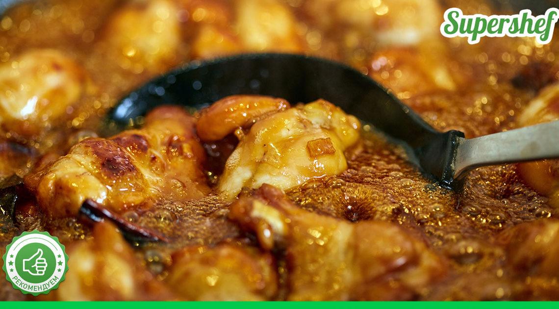 Вековой еврейский рецепт курицы на сковородке, которая готовится за час