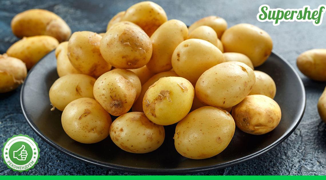 Нужен 1 кг картофеля и сухари! У плиты стоять не надо, а есть можно как на обед, так и на ужин