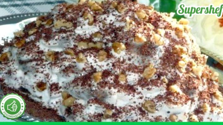 Рецепт торта с пряниками и сметаной, который не нужно выпекать