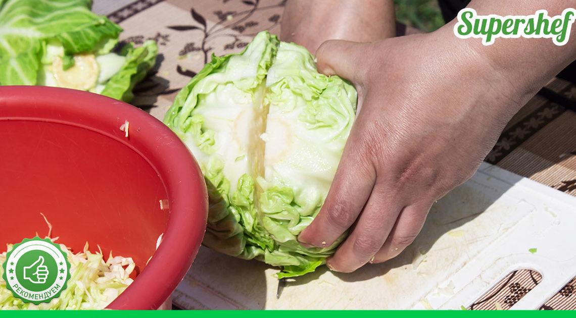 Делюсь новым рецептом тушеной капусты. И неприятного запаха нет, и вкус превосходный