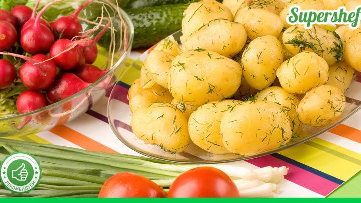 Что ценят больше всего дачники? Молодую картошку! Ловите 4 рецепта ее приготовления