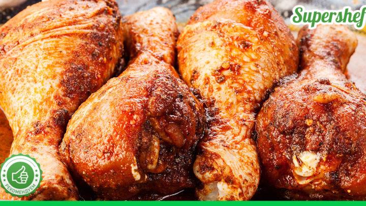Маринад для курицы, Получается нежной, даже если запечь целиком
