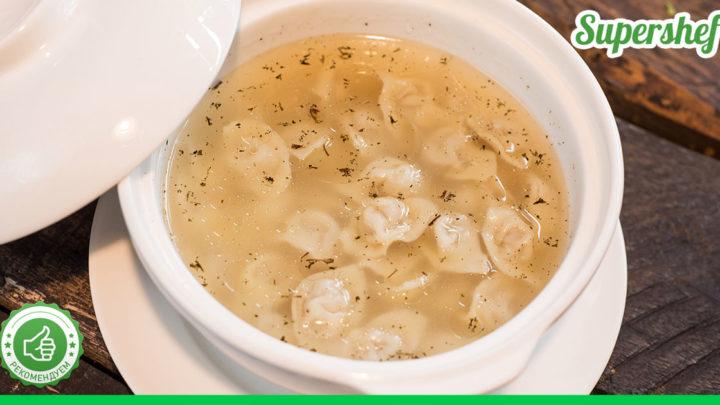 Суп с пельменями по-Азербайджански — что может быть вкуснее в холода!