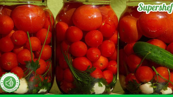 Консервированные помидоры, которые хорошо и долго хранятся