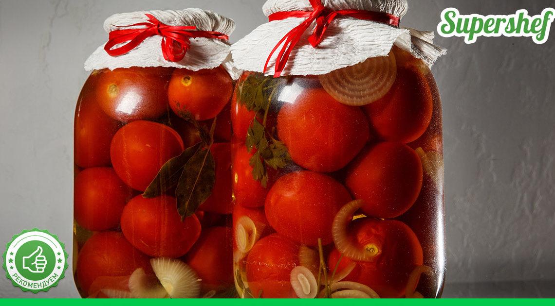 Рецепт свекрови помидоров «По-царски»