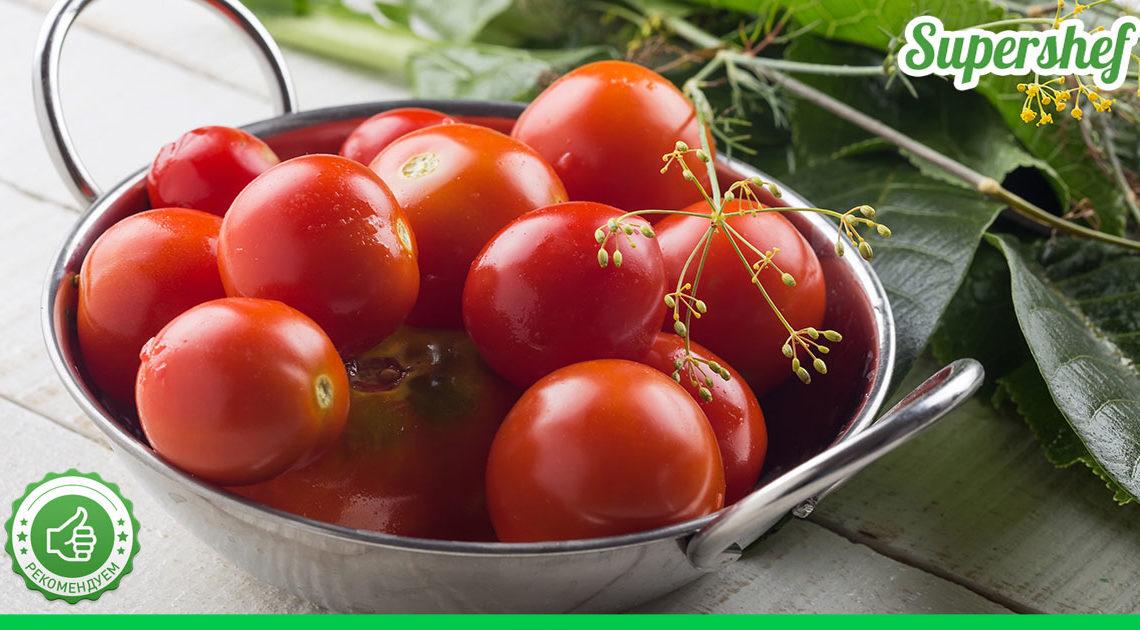 Рецепт заготовки на зиму: малосольные помидоры с чесноком