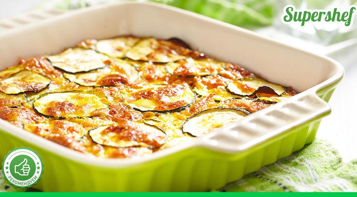 Рецепт кабачкового пирога по мотивам шарлотки