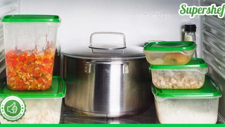 Можно ли ставить горячую еду в холодильник