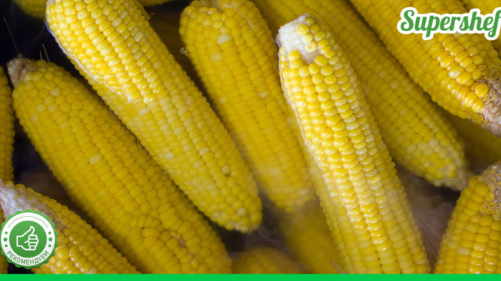 Как правильно варить молодую кукурузу