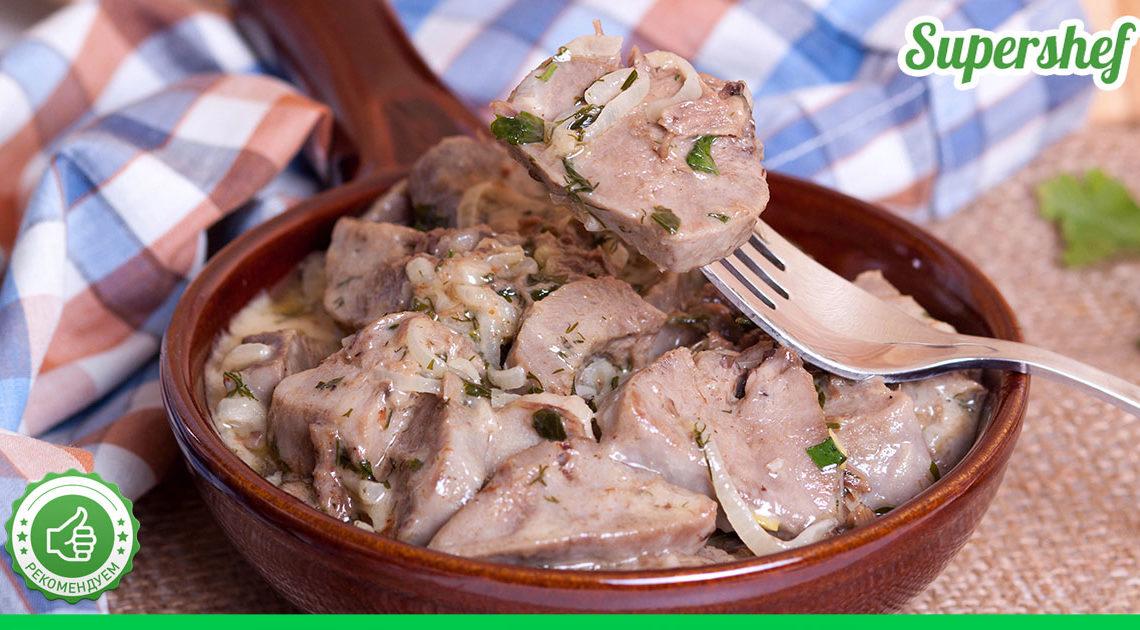 Как сделать свиной язык главным блюдом на праздник