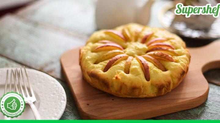 Рецепт итальянского деревенского пирога с яблоками