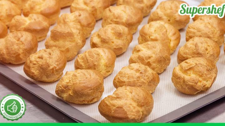 Рецепт профитролей: очень простых и вкусных заварных пирожных