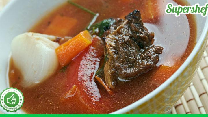 Рецепт ароматной «Шурпы» — вкусного и наваристого блюда