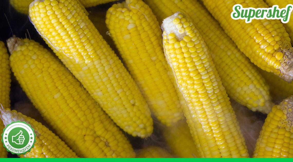 Подсмотрела у украинской хозяйки, что она подает кукурузу с соленым салом