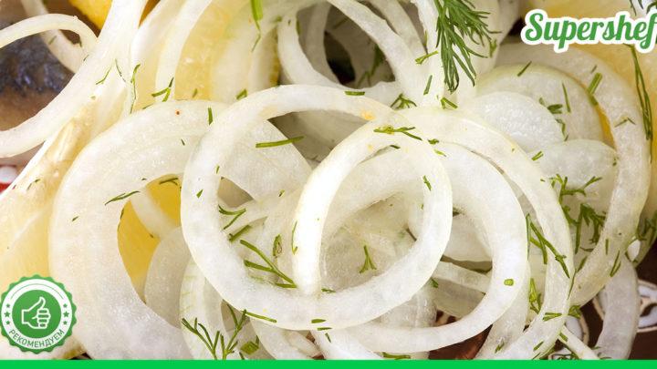 Рецепт маринованного лука, который можно есть без ничего
