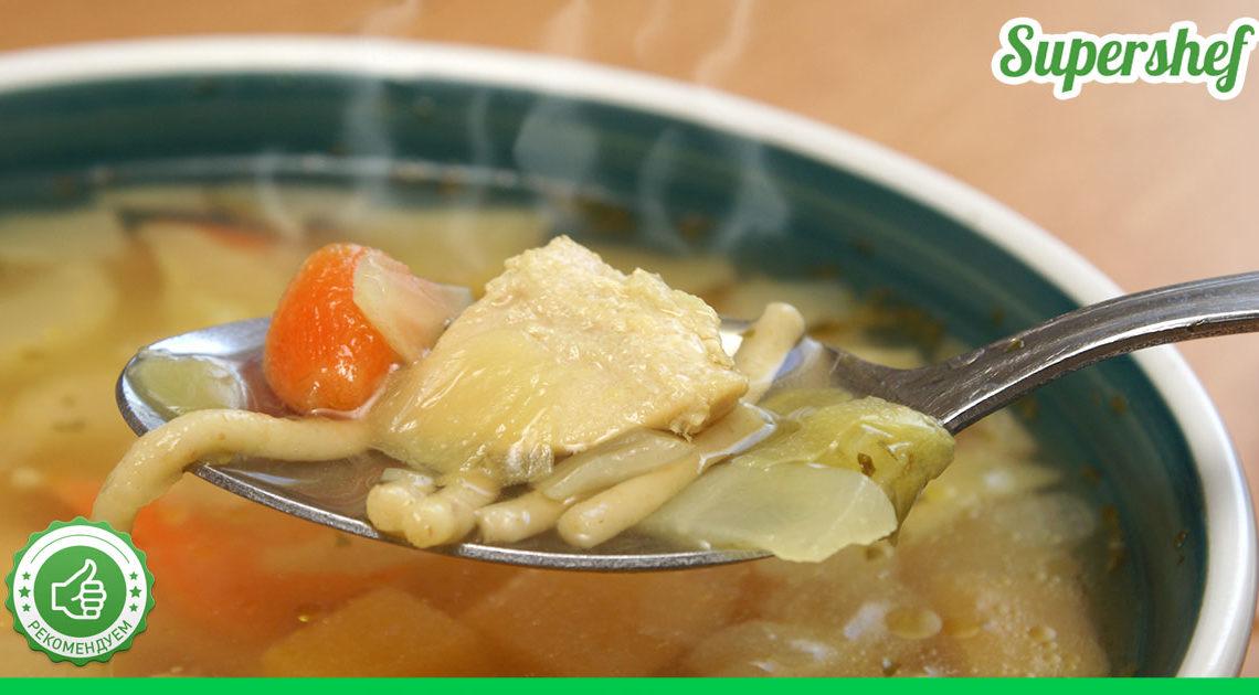 Как мой куриный суп остается свежим неделю