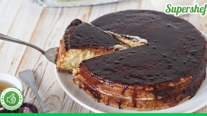 Рецепт торта «Чародейка», с которым никакой мороки