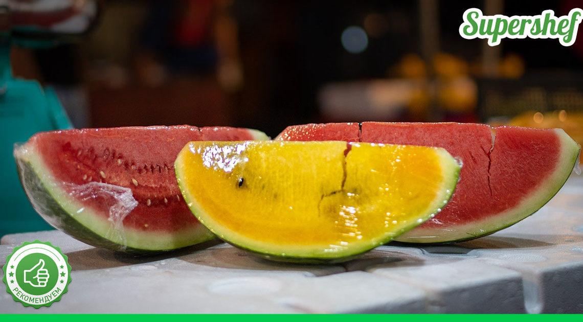 В чем разница между красными и желтыми арбузами
