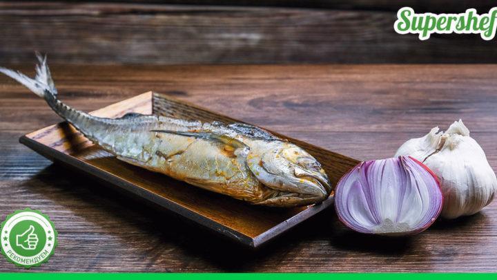 Рецепт запеченной скумбрии «По-гречески». Готовится очень быстро