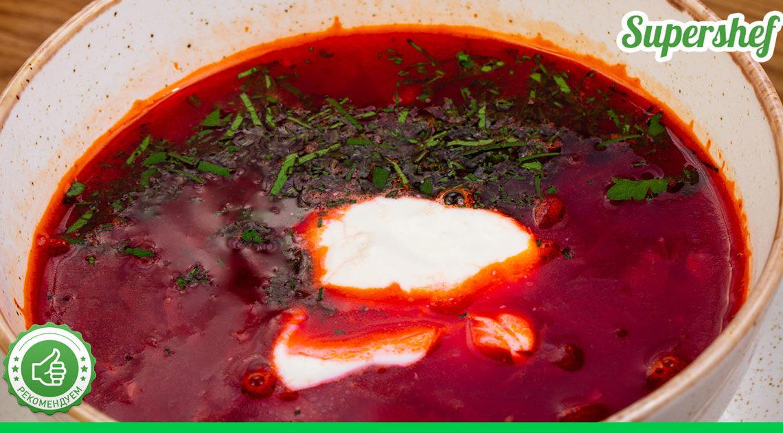 Почему борщ вкуснее с жареной сметаной