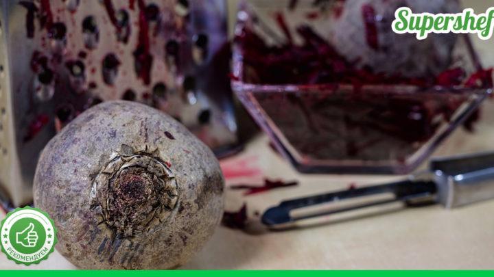 Рецепт тертого салата из свеклы, который переплюнул винегрет