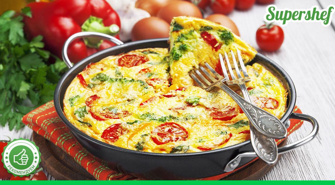 Итальянская фриттата на завтрак. Вкусно и ароматно