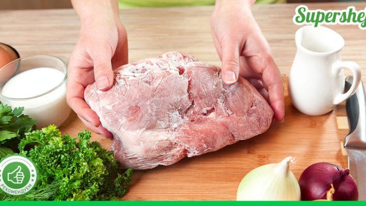 Бабушкин секрет разморозки мяса. Теперь только его буду использовать
