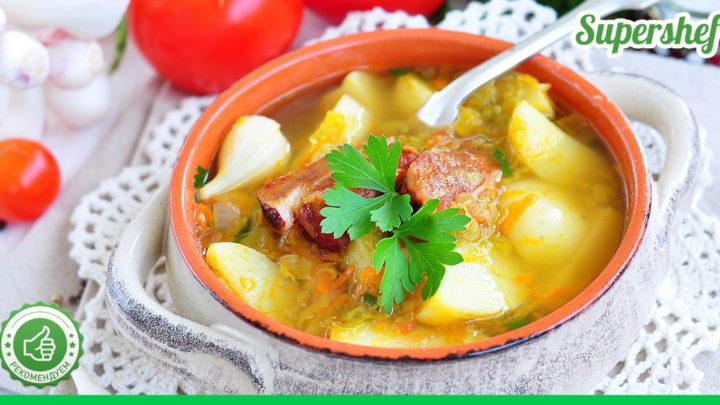 Как приготовить гороховый суп быстрее и вкуснее, чем у всех